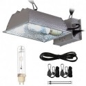 BloomGrow Hydroponic CMH 315W 120/240V Grow Light Fixture 120V Plug w/ 4200K Full Light Spectrum CMH Bulb Replace LED Digital Ballast for Plant Growing